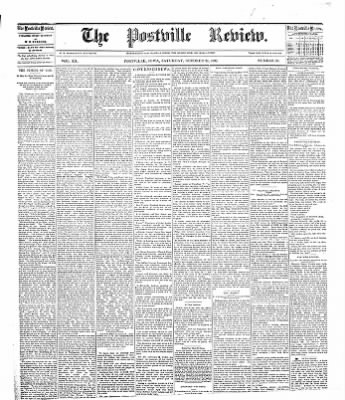 The Postville Review from Postville, Iowa on October 29, 1892 · Page 1