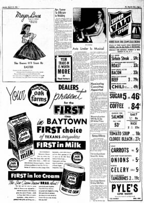 The Baytown Sun from Baytown, Texas on March 19, 1956 · Page 7