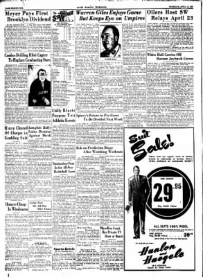 Alton Evening Telegraph from Alton, Illinois on April 16, 1953 · Page 31