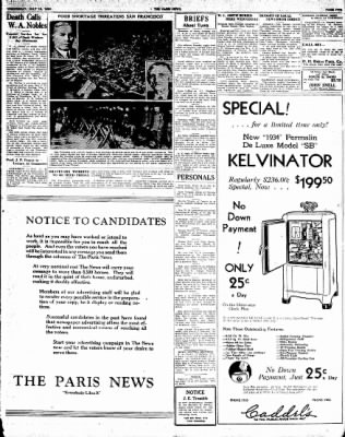 The Paris News from Paris, Texas on July 18, 1934 · Page 5