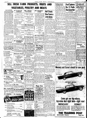 Hope Star from Hope, Arkansas on June 27, 1961 · Page 4