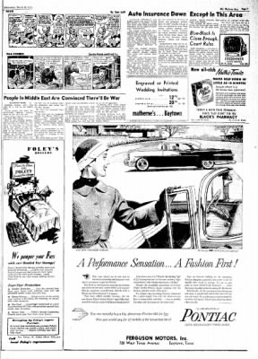 The Baytown Sun from Baytown, Texas on March 28, 1956 · Page 7
