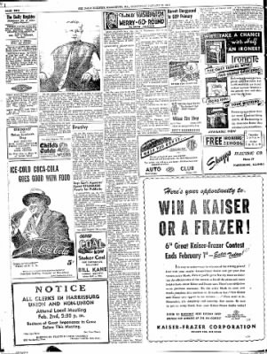 The Daily Register from Harrisburg, Illinois on January 28, 1948 · Page 2
