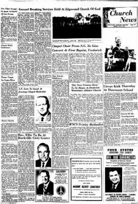 The News from Frederick, Maryland on June 6, 1970 · Page 3
