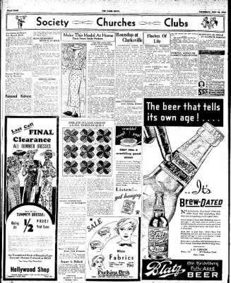 The Paris News from Paris, Texas on July 26, 1934 · Page 4