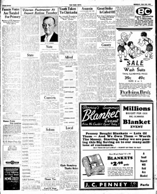 The Paris News from Paris, Texas on July 30, 1934 · Page 8