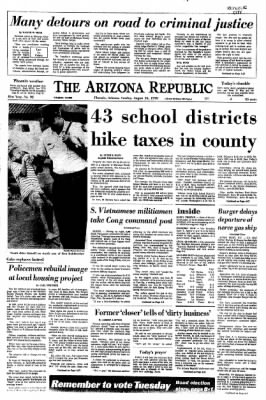Arizona Republic from Phoenix, Arizona on August 16, 1970 · Page 1