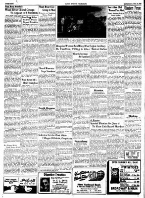 Alton Evening Telegraph from Alton, Illinois on April 25, 1953 · Page 8