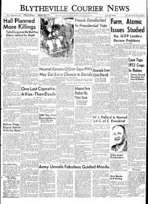 The Courier News from Blytheville, Arkansas on December 18, 1953 · Page 1