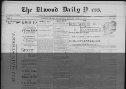 The Elwood Daily Press