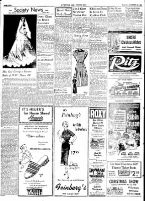 The Courier News from Blytheville, Arkansas on December 21, 1953 · Page 4