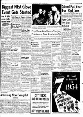 The Courier News from Blytheville, Arkansas on January 20, 1954 · Page 10