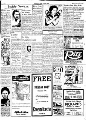 The Courier News from Blytheville, Arkansas on January 25, 1954 · Page 2
