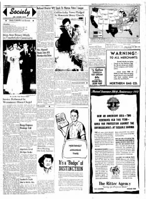 Northwest Arkansas Times from Fayetteville, Arkansas on January 5, 1952 · Page 3