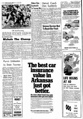 Northwest Arkansas Times from Fayetteville, Arkansas on July 29, 1974 · Page 10