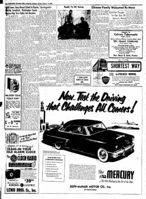 Northwest Arkansas Times from Fayetteville, Arkansas on February 19, 1952 · Page 6