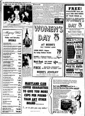 Northwest Arkansas Times from Fayetteville, Arkansas on February 28, 1952 · Page 14