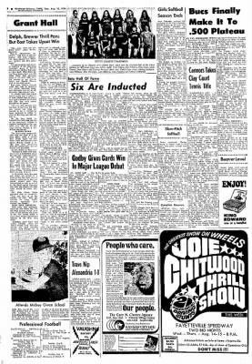 Northwest Arkansas Times from Fayetteville, Arkansas on August 13, 1974 · Page 8