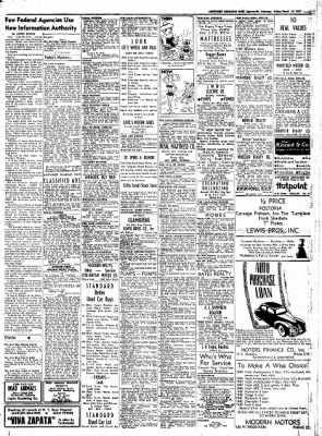 Northwest Arkansas Times from Fayetteville, Arkansas on March 14, 1952 · Page 7