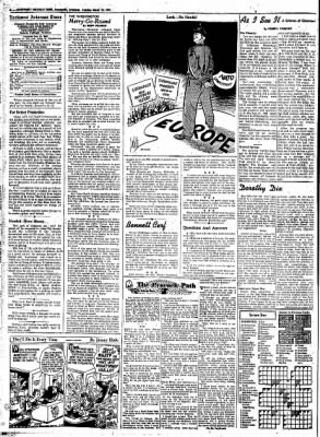Northwest Arkansas Times from Fayetteville, Arkansas on March 25, 1952 · Page 4