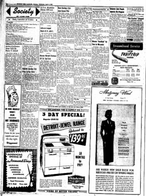 Northwest Arkansas Times from Fayetteville, Arkansas on April 2, 1952 · Page 2