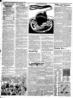 Northwest Arkansas Times from Fayetteville, Arkansas on April 5, 1952 · Page 4