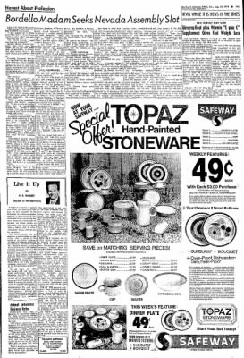 Northwest Arkansas Times from Fayetteville, Arkansas on August 25, 1974 · Page 11