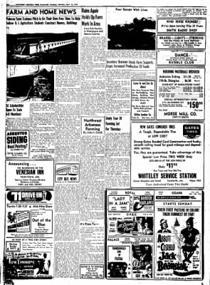 Northwest Arkansas Times from Fayetteville, Arkansas on April 19, 1952 · Page 10