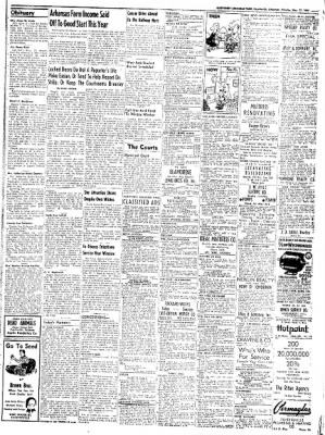 Northwest Arkansas Times from Fayetteville, Arkansas on May 12, 1952 · Page 9