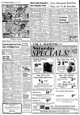 Northwest Arkansas Times from Fayetteville, Arkansas on September 13, 1974 · Page 8