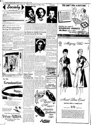 Northwest Arkansas Times from Fayetteville, Arkansas on May 22, 1952 · Page 2