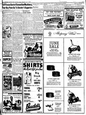 Northwest Arkansas Times from Fayetteville, Arkansas on June 11, 1952 · Page 10