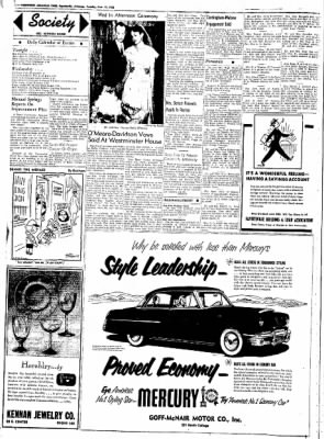 Northwest Arkansas Times from Fayetteville, Arkansas on June 17, 1952 · Page 2