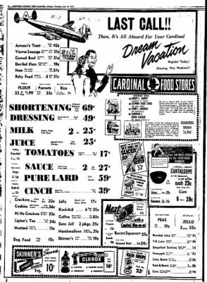 Northwest Arkansas Times from Fayetteville, Arkansas on June 26, 1952 · Page 10