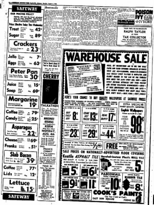 Northwest Arkansas Times from Fayetteville, Arkansas on August 4, 1952 · Page 6