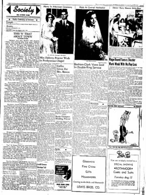 Northwest Arkansas Times from Fayetteville, Arkansas on August 9, 1952 · Page 3