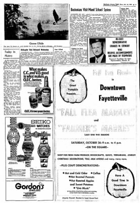 Northwest Arkansas Times from Fayetteville, Arkansas on October 24, 1974 · Page 3