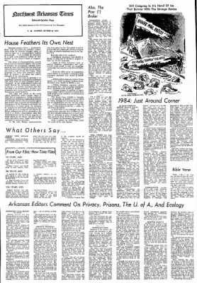 Northwest Arkansas Times from Fayetteville, Arkansas on October 26, 1974 · Page 4