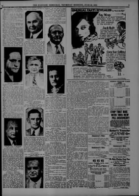 The Hancock Democrat from Greenfield, Indiana on June 28, 1934 · Page 3
