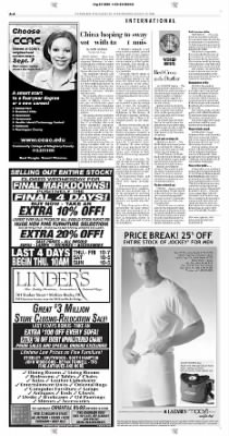 Pittsburgh Post-Gazette from Pittsburgh, Pennsylvania on August 25, 2004 · Page 4