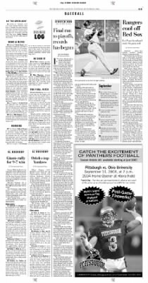 Pittsburgh Post-Gazette from Pittsburgh, Pennsylvania on September 5, 2004 · Page 33