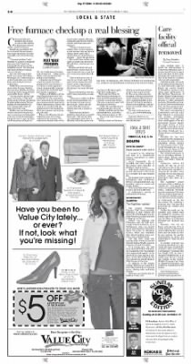Pittsburgh Post-Gazette from Pittsburgh, Pennsylvania on September 17, 2004 · Page 44