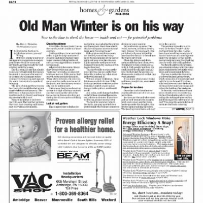 Pittsburgh Post-Gazette from Pittsburgh, Pennsylvania on September 22, 2004 · Page 104