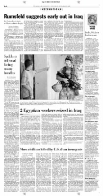 Pittsburgh Post-Gazette from Pittsburgh, Pennsylvania on September 25, 2004 · Page 4
