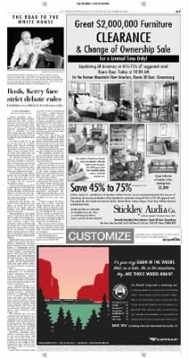 Pittsburgh Post-Gazette from Pittsburgh, Pennsylvania on September 30, 2004 · Page 7