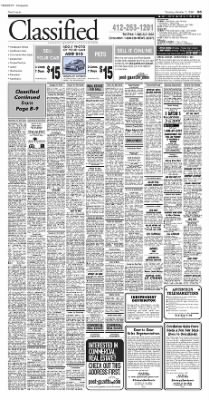 Pittsburgh Post-Gazette from Pittsburgh, Pennsylvania on October 5, 2004 · Page 47