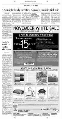 Pittsburgh Post-Gazette from Pittsburgh, Pennsylvania on November 4, 2004 · Page 5