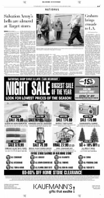 Pittsburgh Post-Gazette from Pittsburgh, Pennsylvania on November 20, 2004 · Page 7