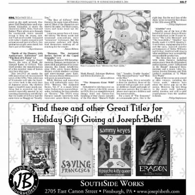Pittsburgh Post-Gazette from Pittsburgh, Pennsylvania on December 5, 2004 · Page 90