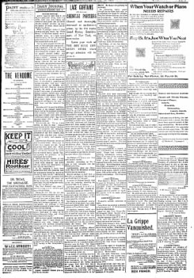 Logansport Pharos-Tribune from Logansport, Indiana on May 8, 1894 · Page 3